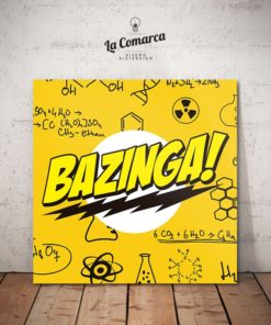 Cuadro The Big Bang Theory - Bazinga