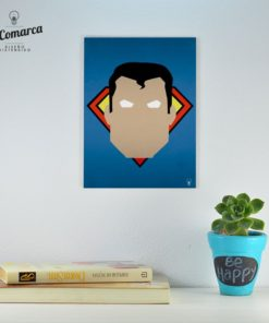 Cuadrito Comic Superman