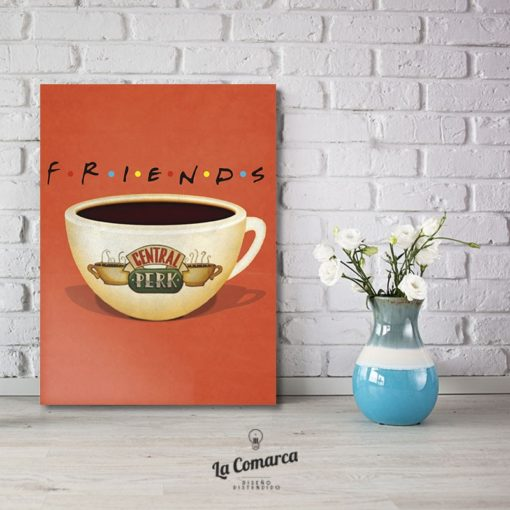 Cuadro Friends Taza Central Perk