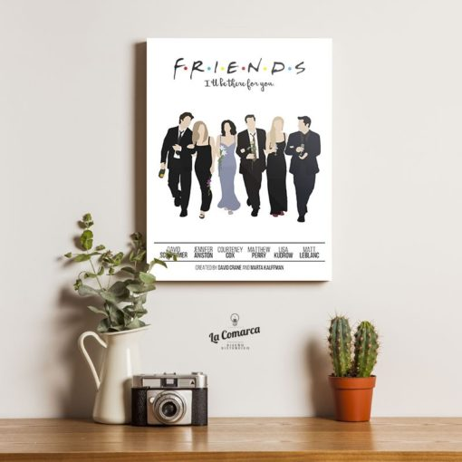 Friends caricaturas