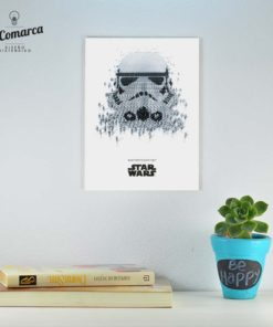 Cuadrito Star Wars - Trooper